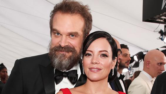 Lily Allen ja David Harbour