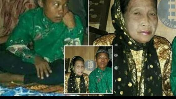 16-vuotias poika ja 71-vuotias nainen menivät naimisiin!