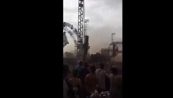 Hirvittävät videot leviävät: dj kuoli traagisesti kesken festivaalin - lava romahti niskaan!