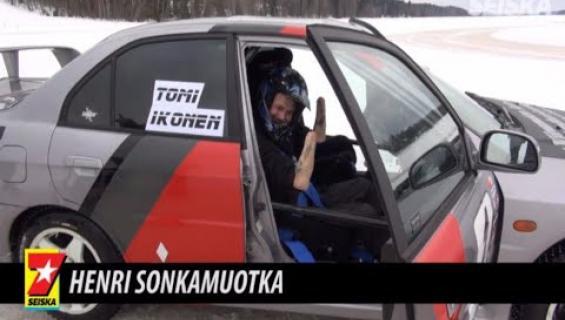 Neliraaja-amputoitu extreme-hurjapää Henri Sonkamuotka toteutti jälleen yhden unelmansa – katso!