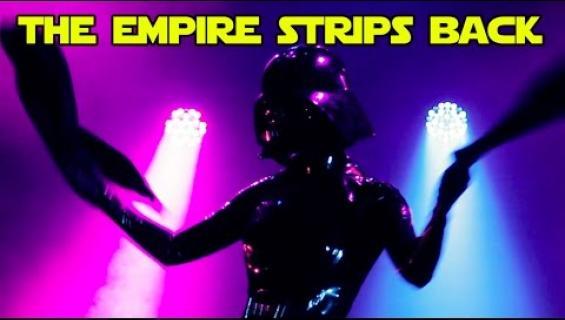 Seksikäs Star Wars -burleski saa nörtit käymään kuumana - katso video!