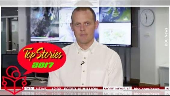Helleputken ikävä seuraus: sääasiantuntija pyörtyi suorassa uutislähetyksessä puhuessaan lämpöaallosta - katso video!