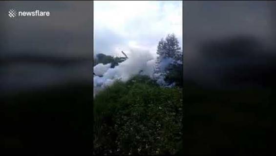Oho, kiinalaiskylä hautautui vaahtoon - katso viraaliksi mennyt video!