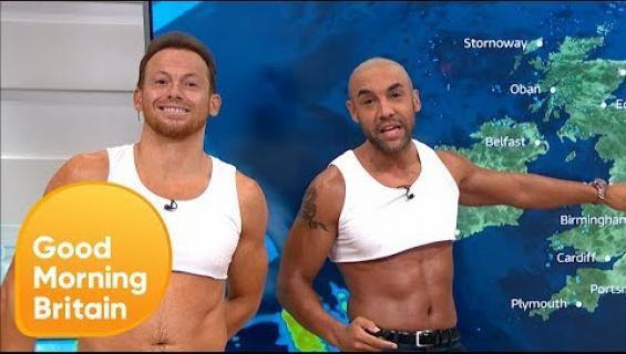 Ohhoh, tv-meteorologit pukeutuivat napapaitoihin livelähetyksessä - katso video!