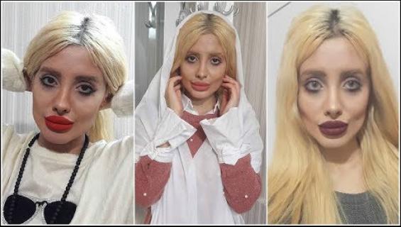Muistatko vielä zombie-Angelina Jolien? Hänen paras ystävänsä on ihmis-Barbie!