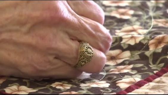 50 vuotta kateissa ollut sormus löysi takaisin omistajalleen - katso video!