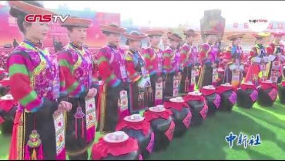 Viinin juonnin maailmanennätys rikottiin Kiinassa!