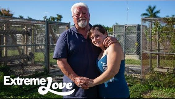 Avio-onnea matelijatilalla - tällä pariskunnalla on 32 vuoden ikäero!