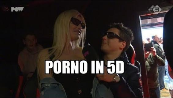 No huh huh! Tällainen on Amsterdamin 5D-pornoteatteri: pomppivat istuimet ja tuoksusuihkuja!