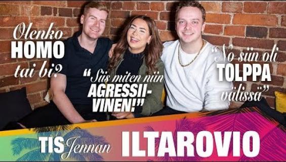 TIS-Jennan Iltarovio jakso 4: Kuka oli rasittava humalassa ja mukava selvinpäin!