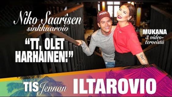 """TIS-Jenna Iltarovio -vlog jakso 5: Niko Saarisen rankka sinkkuraati - """"TT olet harhainen - ole hiljaa äläkä nolaa itseäsi"""""""