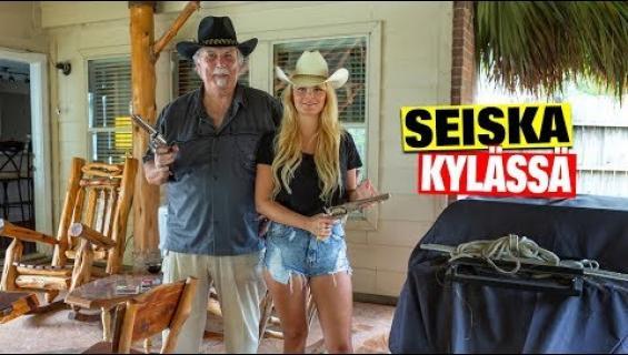 Video julki Texasista! Dannyn pikkuveli Pekka, 74, esittelee aseitaan - tämä revolverin panos kirjaimellisesti pysäyttää!