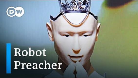 Buddhalainen temppeli Japanissa houkuttelee nuoria robottisaarnaajan avulla!