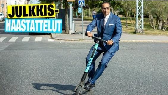 Hävyttömän kallis harrastus! Julkkisjuristi Heikki Lampela törsää sähköpotkulautailuun vähintään 1200€ joka kuukausi - tämä video sinun on nähtävä!