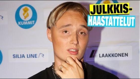 """Nyt on nöyrää! Isac Elliot, 18, saapui hyväntekeväisyyskonserttiin 34 000 euron timanttiluksuskello ranteessaan: """"Westerbackalta kävin hakemassa"""""""