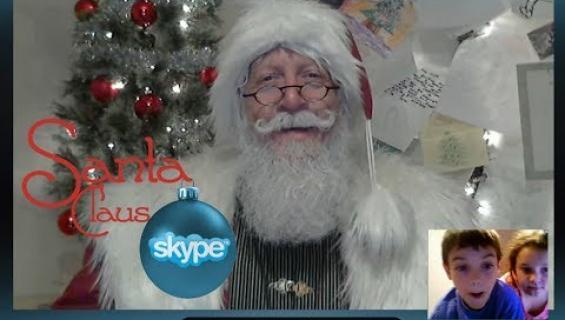Joulupukki aloittaa videopuhelut!