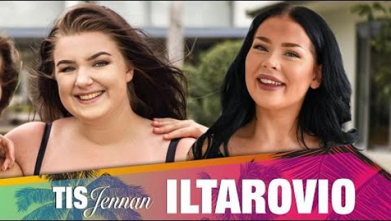 """TIS-Jenna Iltarovio - jakso 7 - vieraana Viivi: """"Eniten satuttavat sellaiset läskikommentit, joissa..."""""""