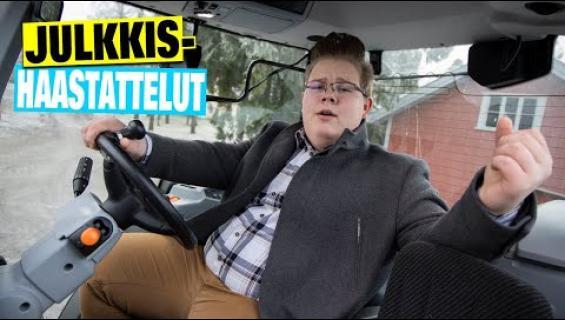 """""""Treenaan traktorissa!"""" Henri Jokinen, 15, on tangon tuleva supertähti – katso ja kuuntele huikea ääninäyte!"""