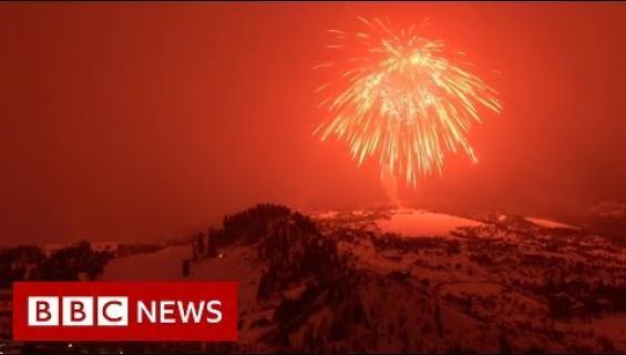 Pyhä jysäys! Maailman suurin ilotulite räjähti Coloradon yllä!