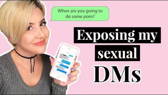 """""""Mikset tee aikuisviihdettä?"""" Suosittu seksibloggari hukkuu törkyviesteihin!"""