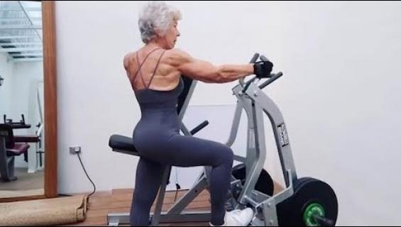 Kondis ei ikää katso! 73-vuotias Joan on hurahti kypsällä iällä fitnessiin ja nousi sometähdeksi!