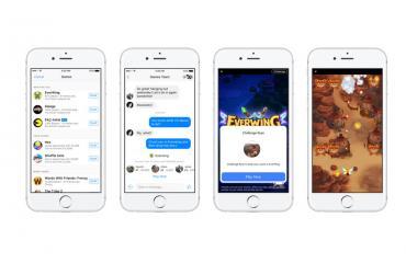 Facebook julkaisi marraskuussa uudet minipelit.