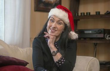 Saija Varjus viettää jouluaaton yksin kotona.
