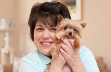 Maailman pienin palveluskoira Lucy
