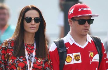 Kimi Räikkönen ja Minttu Virtanen naimisiin
