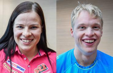 Krista Pärmäkoski ja Iivo Niskanen ovat Suomen kärkihiihtäjiä.