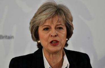 Theresa Mayn nimi kirjoitettiin väärin.