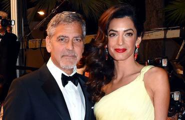 George Clooney ja Amal punaisella matolla