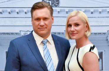 Samuli Edelmann ja Laura Malmivaara