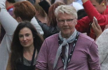 Pirkka-Pekka Petelius lomaili rakkaansa kanssa Madeiralla.