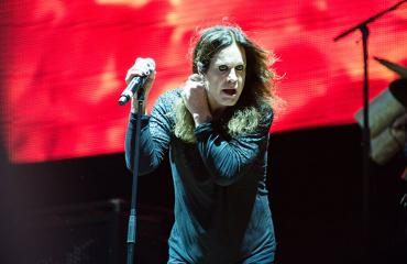Ozzy Osbourne keikalla