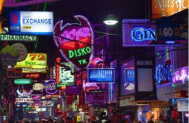 Pattaya on maailman seksipääkaupunki.