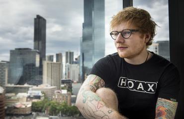 Viimeistään The A Team -kappaleella supersuosioon singahtanut Ed Sheeran
