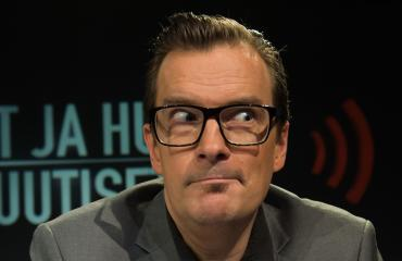 André Wickström ei aio laihduttaa.