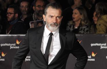 Näyttelijä Antonio Banderas