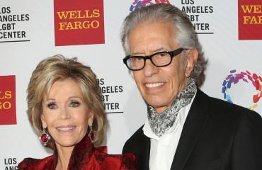 Näyttelijä Jane Fonda ja ex-kumppani Richard Perry