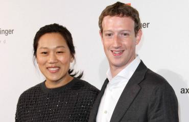 Mark Zuckerberg ja Priscilla Chan