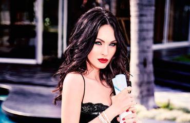 Megan Fox pressikuvassa