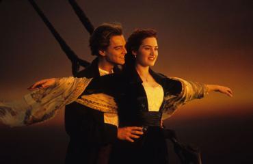 Valokuva Titanic-elokuvasta
