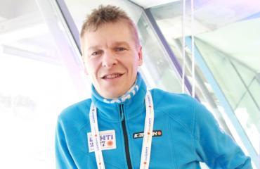 Toni Nieminen Lahden MM-kisoissa.