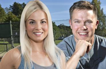 Janni Hussin ja Juha Perälän ympärillä velloo kuumat romanssihuhut.