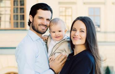 Prinssipari Carl Philip ja Sofia sekä prinssi Alexander
