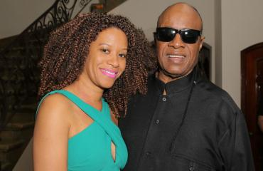 Laulaja Stevie Wonder ja Tomeeka Bracy