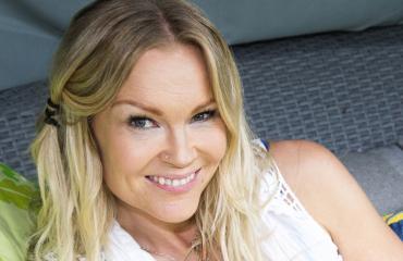 Viiden lapsen äiti Susanna Tanni näyttää edelleen upealta