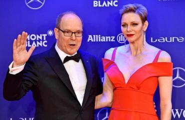 Monacon ruhtinaspari Albert ja Charlene