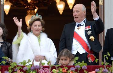Kuningatar Sonja ja kuningas Harald